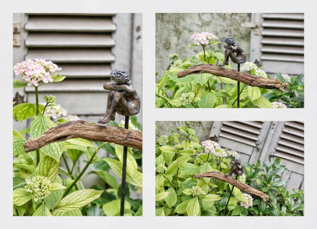 Gartenskulptur Gartenkeramik