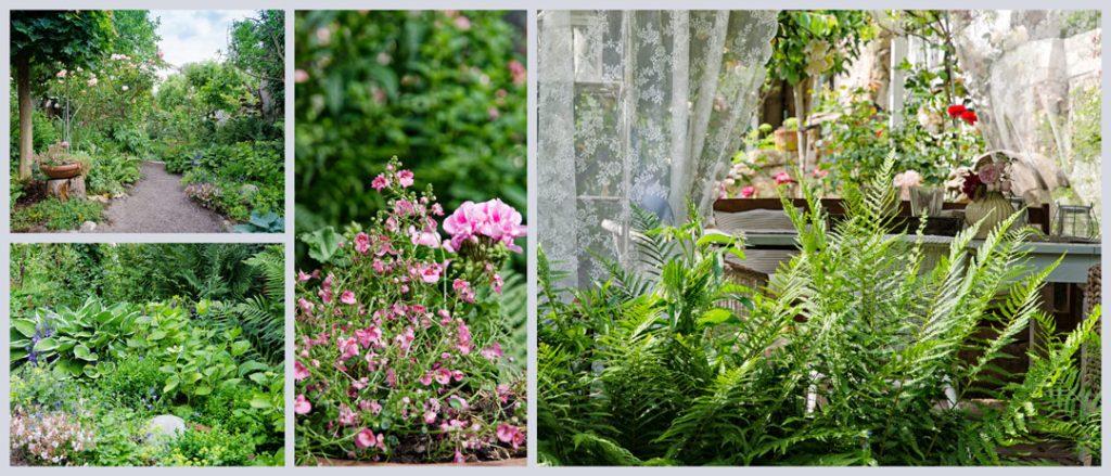 Garten im Landhausstil