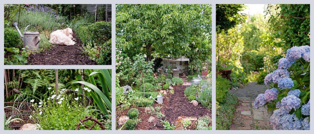 Landhausstil im Garten gestalten