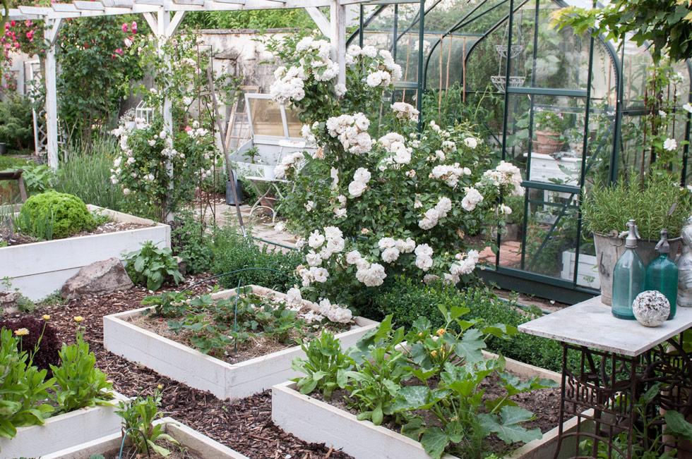 Hochbeet im Garten Rückenschonend und Ertragreich